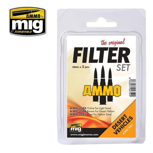 A.MIG-7451 Filter szett sivatagi járművekhez - FILTER SET FOR DESERT VEHICLES