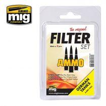AMIG7453 FILTER SET FOR GERMAN TANKS