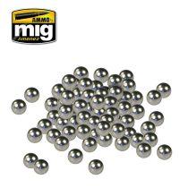 A.MIG-8003 Rozsdamentes festékkeverő golyók - STAINLESS STEEL PAINT MIXERS