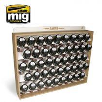 A.MIG-8006 35 ml AMMO STORAGE SYSTEM - tartó 35ml tégelyekhez