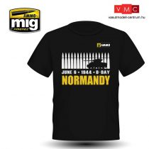 A.MIG-8030XL NORMANDY T-SHIRT