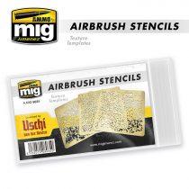 A.MIG-8035 AIRBRUSH STENCILS