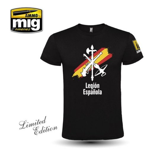 AMIG8054XXXL LEGION ESPAÑOLA RETRO T-SHIRT