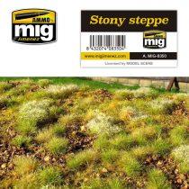 A.MIG-8350 Köves füves puszta - STONY STEPPE
