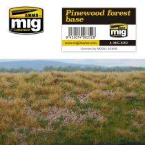 A.MIG-8352 Fenyőerdő talaj - PINEWOOD FOREST BASE