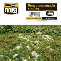 A.MIG-8358 Tavaszi köves hegyi talaj - STONY MOUNTAIN - SPRING