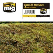 A.MIG-8359 Kis őszi bokrok - SMALL BUSHES – AUTUMN
