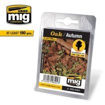 A.MIG-8401 Tölgylevél, őszi - OAK – AUTUMN