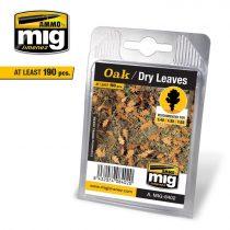 A.MIG-8402 Tölgylevelek, száraz - OAK - DRY LEAVES
