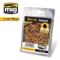 A.MIG-8406 Nyírlevél, őszi - BIRCH – AUTUMN