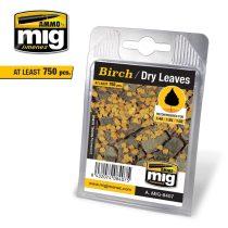 A.MIG-8407 Nyírlevél, száraz - BIRCH - DRY LEAVES