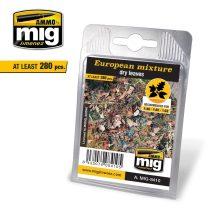 A.MIG-8410 Európai keverék - Száraz Levelek - EUROPEAN MIXTURE - DRY LEAVES