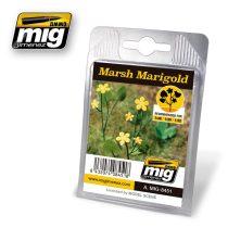 A.MIG-8451 Mocsári gólyahír - MARSH MARIGOLD