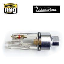A.MIG-8658 In-line moisture trap az AirCobra és más Festékszóróhoz - vízleválasztó
