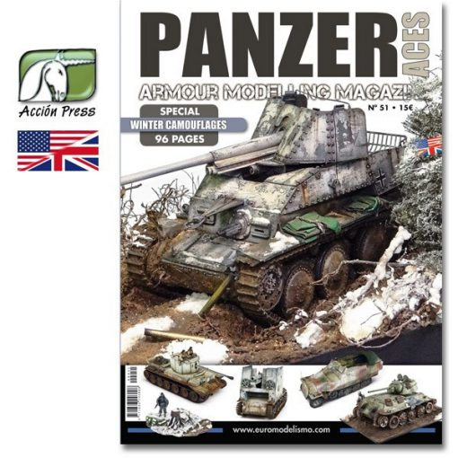 AMIGPANZ-0051 PANZER ACES Nº51 (SPECIAL WINTER CAMOUFLAGES - 96 pages) ENGLISH