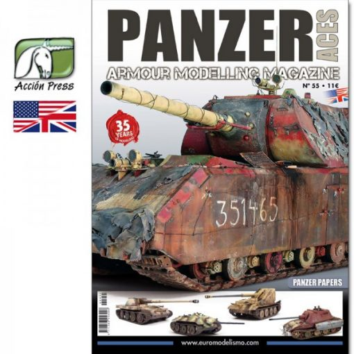 AMIGPANZ-0055 PANZER ACES Nº55 (PANZER PAPERS) ENGLISH