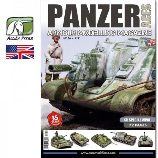 AMIGPANZ-0056 PANZER ACES Nº56 (SU SPECIAL WWII) ENGLISH