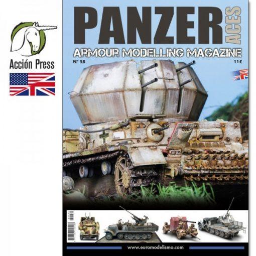 AMIGPANZ-0058 PANZER ACES Nº58 ENGLISH