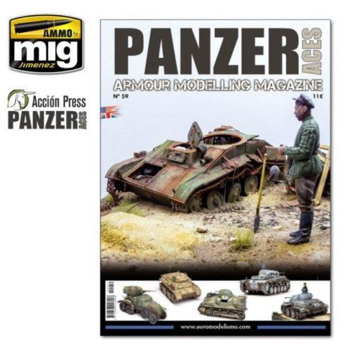 AMIGPANZ-0059 PANZER ACES Nº59 ENGLISH