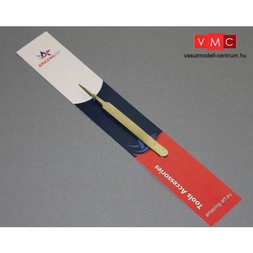AmazingArt ESD-11/1 Precíziós csipesz, hegyes végű, 11  cm (Tweezer)