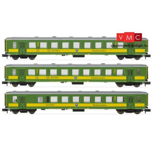 Arnold_6536 Tartálykocsi-pár, négytengelyes Zacns, Pannonia Ethanol / Wascosa (E6) (N)