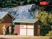 Auhagen 11336 Pályaudvari illemhely, állomási WC (H0)