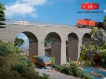 Auhagen 11344 Vasúti híd, viadukt, egyvágányos