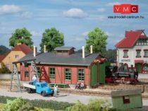 Auhagen 11355 Fűtőház keskeny nyomközű vasúthoz (H0/H0m/H0e)