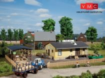 Auhagen 11374 Vidéki építőanyag kereskedés (H0)