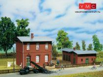 Auhagen 11389 Vasúti irodaépület raktárral (H0)