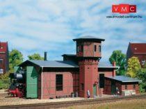 Auhagen 11400 Fűtőház víztoronnyal, egyállásos (H0)