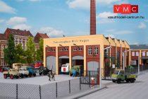 Auhagen 11451 Járműtároló épület, városi vasút/közút (H0)