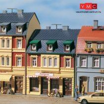 Auhagen 12248 Városi sorház, húsbolt