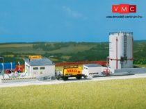 Auhagen 12264 Üzemanyagtároló álló tartállyal (H0/TT)