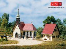 Auhagen 14461 Falusi templom lelkészlakkal
