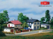 Auhagen 14462 Két elővárosi ház + garázs