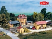Auhagen 15102 Vasútállomás kezdőkészlet Wachstädt