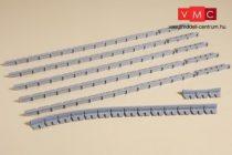 Auhagen 41201 Állomási peronszegély, 7 mm