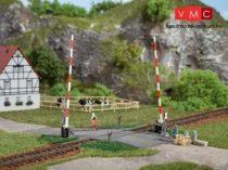 Auhagen 41604 Sorompós vasúti átjáró, egyenes