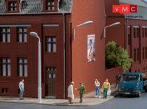 Auhagen 41621 Ostoros utcai lámpák (12 db, nem világítanak) (H0)