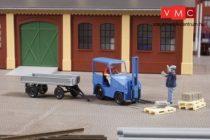 Auhagen 41636 DFZ 632 ipari targonca pótkocsival (H0) - építőkészlet