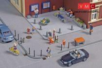 Auhagen 41639 Főtéri, utcai kiegészítők (H0)