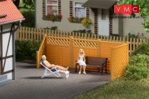 Auhagen 41648 Árnyékolókerítés oszlopokkal (H0)