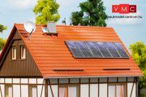 Auhagen 41651 Háztetőre szerelhető napkollektorok és SAT TV-antenna tányérok (H0)