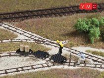 Auhagen 41703 Lapos lórék gazdasági vasúthoz (3 db) (H0)