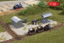 Auhagen 42572 Csillék sínnel