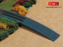 Auhagen 43585 Vasúti emelkedő töltés habszivacsból (TT)