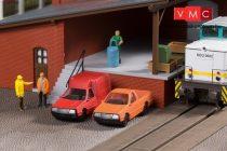Auhagen 43660 Közúti szállítójárművek, furgonok - 4 db (TT)