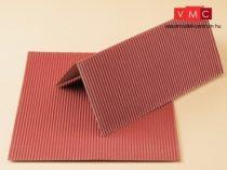 Auhagen 50112 Kartonlap vörös hullámlemez, 2 db (H0/TT)