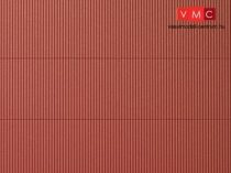 Auhagen 52230 Dekorlap hullámlemez, vörösbarna, 2 db